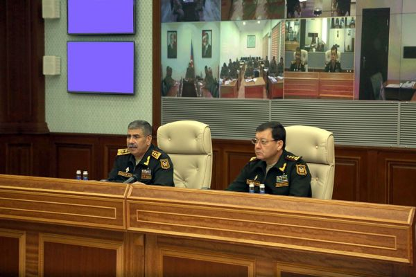 "Defense Minister: ""Azerbaijan Army disposes of the armament that allows to fully ensure victory over the enemy"""