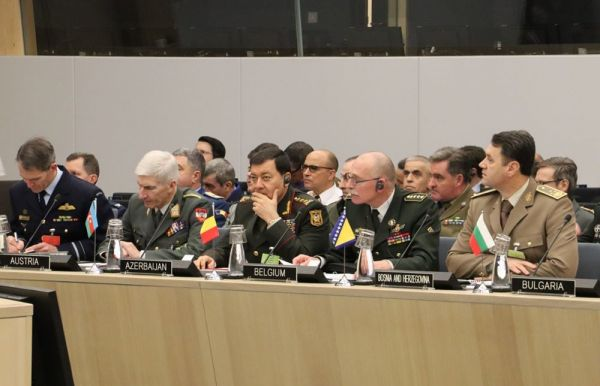 Chief of the General Staff of the Armed Forces Azerbaijan took part in the meeting held at NATO Headquarters