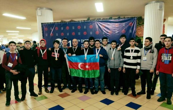 Major achievements of Azerbaijani schoolchildren at the International Olympiad with the support of Azercell