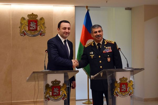 Ministers of Defense of Azerbaijan and Georgia held a meeting