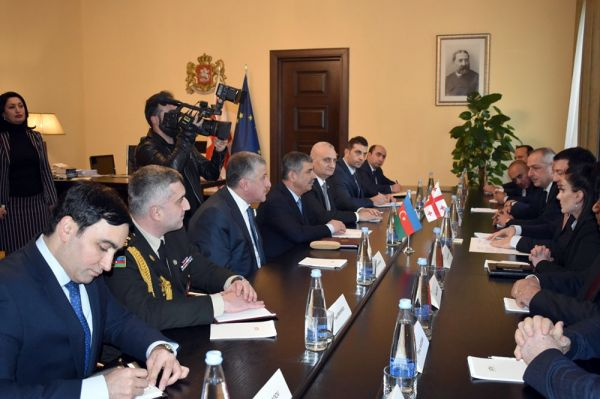 Chairman of the Parliament of Georgia received Minister of Defense of Azerbaijan