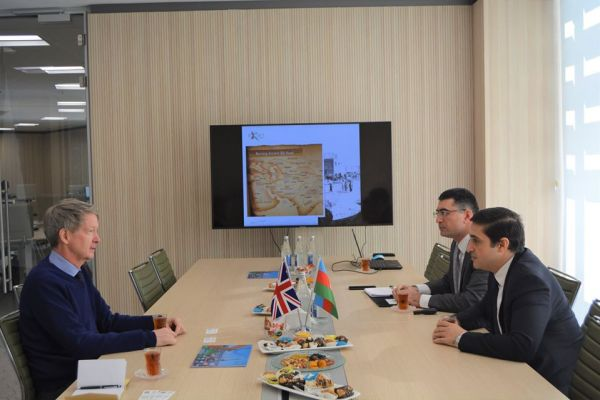 Ambassador of the United Kingdom to the Republic of Azerbaijan paid a visit to the Port of Baku