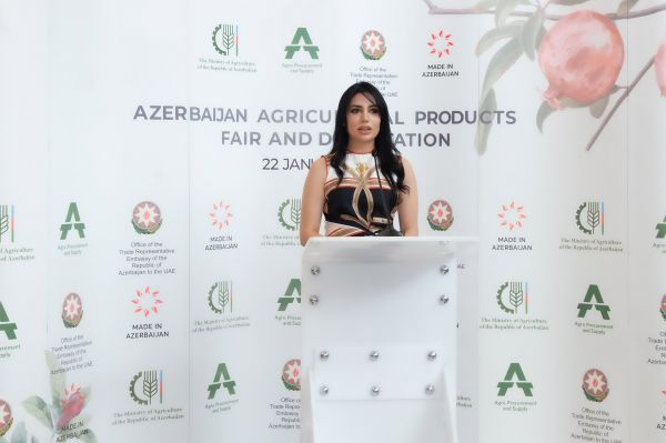 Azerbaijan agricultural products are exhibited in Dubai