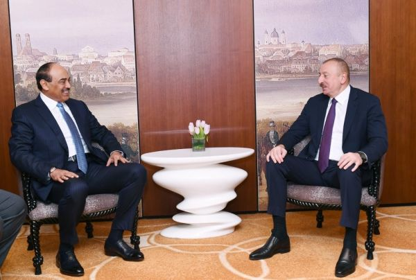 President Ilham Aliyev meets with Kuwaiti Prime Minister in Munich