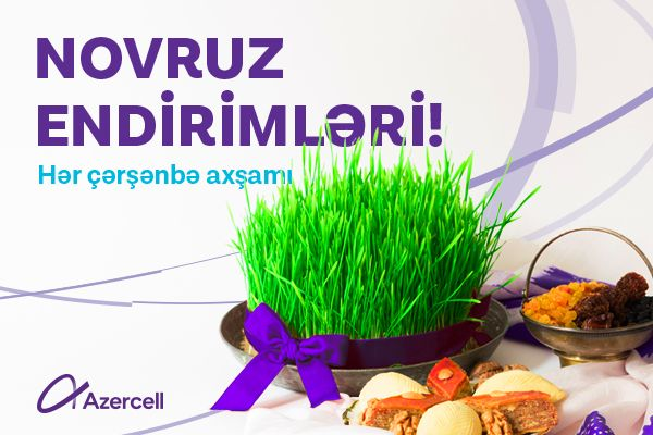 Azercell will present your first Novruz gift!
