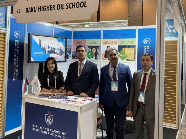 Baku Higher Oil School delegation takes part in Eurasia Higher Education Summit