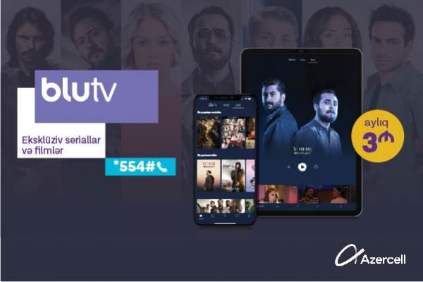 Azercell presents BluTV service!