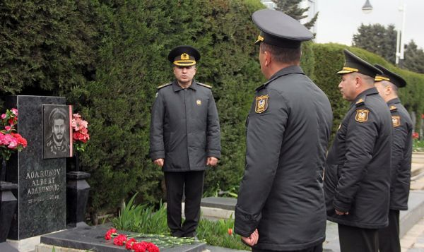 Azerbaijan National Hero Albert Agarunov's memory was honored