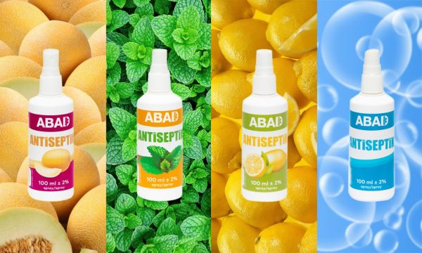 ABAD presents a variety of aromatic antiseptics