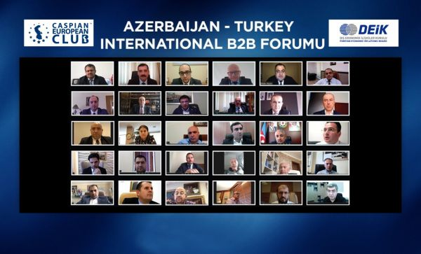 Third international online 'Azerbaijan-Turkey' B2B forum conducted