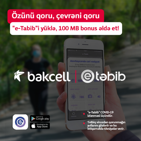 "Prevent the infection by means of ""e-Tabib""!"