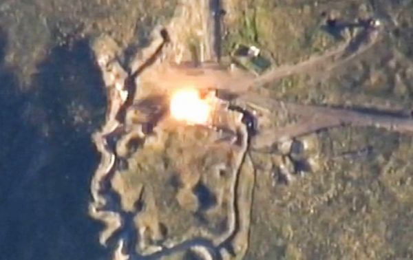 Azerbaijani MoD: Another military facility of the enemy was destroyed - VİDEO