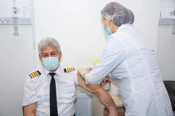 AZAL Employees Aged 50 and over Vaccinated against COVID-19