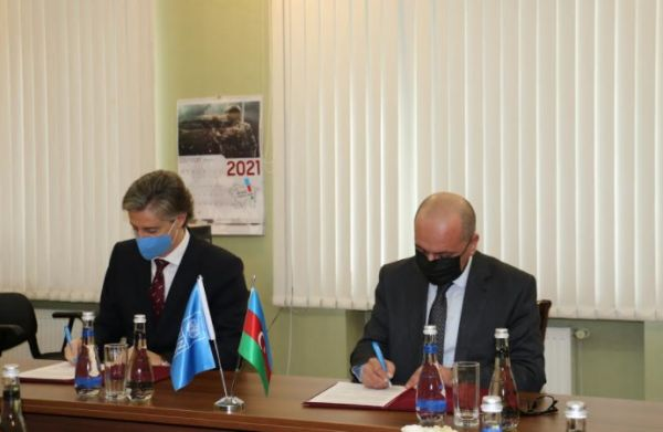 ANAMA and UNDP join forces to support mine action in Azerbaijan