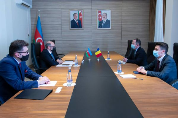Minister of Energy has received ambassador of Romania to Azerbaijan