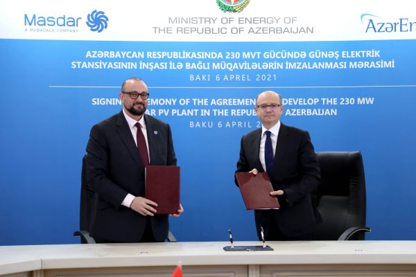 Agreements on solar power plant project signed in Azerbaijan
