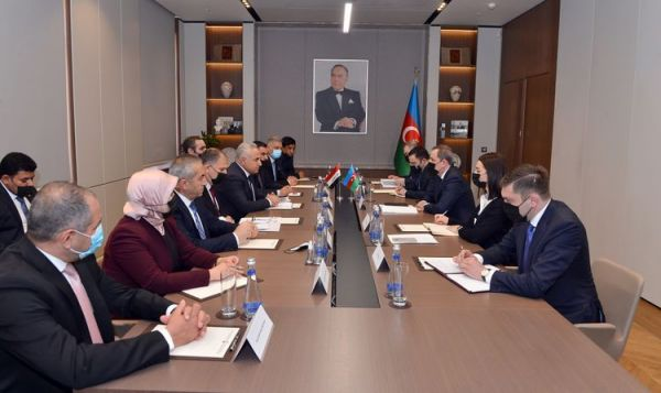 Azerbaijani FM received chairman of the committee of the Iraqi parliament