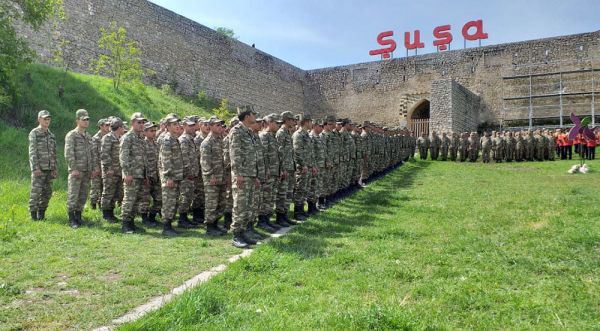 The 76th anniversary of the Victory in the Great Patriotic War was celebrated in Shusha