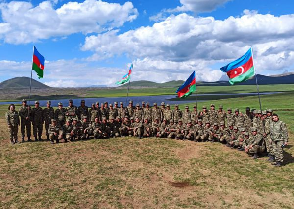 Activities held with servicemen in the liberated territories continue